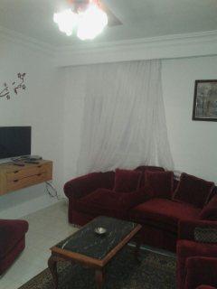 شقة مفروشة للايجار بمكرم عبيد 4500 للشهر