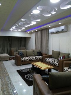 The highest level furnished apartment in Nasr City for rent