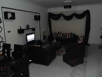 شقة مفروشة للايجار تطل على جنينة مول 400 جنية لليوم