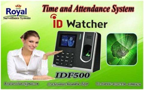 ساعة الحضور والانصراف ماركة ID WATCHER موديل IDF 500
