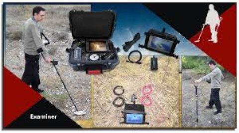 أحدث الأجهزة التصويرية  للكشف عن المعادن والفراغات Geo Examiner