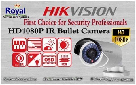 كاميرات مراقبة خارجية   HD 1080P HIKVISION  بها OSD menu