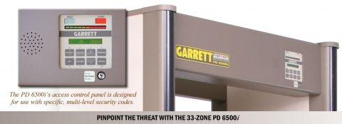 البوابة الامنية  PD 6500i احدى منتجات شركة جاريت الامريكية