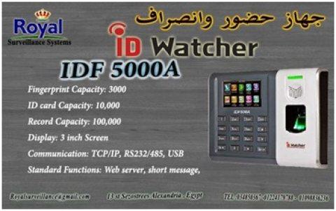 ماكينة حضور والانصراف بالبصمة و الكارت ماركة ID WATCHER موديل ID