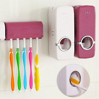 حامل المعجون و فرش الاسنان Toothpaste dispenser