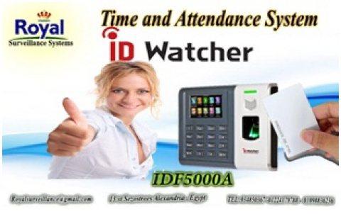 ساعة حضور والانصراف بالبصمة و الكارت ماركة ID WATCHER موديل IDF5