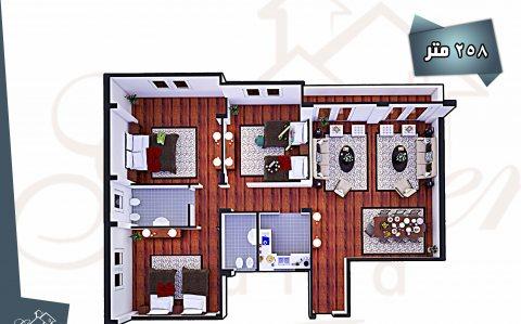 شقة للبيع فى دريم لاند على ارض الجولف
