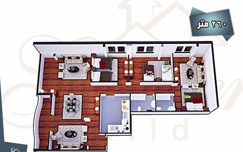 شقة للبيع فورا فى دريم لاند بمساحة رائعة