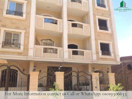 شقة 125م استلام فوري بمنطقة المستثمرين الجنوبية التجمع الخامس