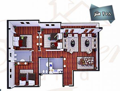 شقة للبيع فورا فى دريم لاند دور رابع
