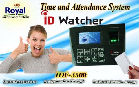 أجهزة حضور وانصراف ماركة ID WATCHER موديل  IDF-3500