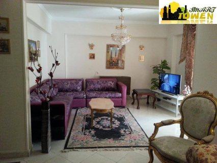 للتميز والفخامة شقة مفروشة للايجار بشارع هشام لبيب