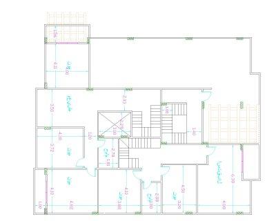 apartment بمدينة الشروق 165 متر للبيع دور ثانى باسانسير سعر المت