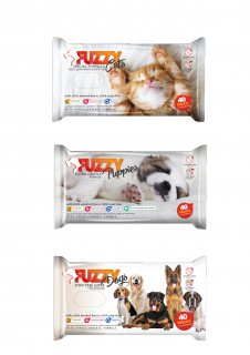 Fuzzy Cleaning Wipes   (40 Wipes) –    فزى كلينينج وايبس)40 مند