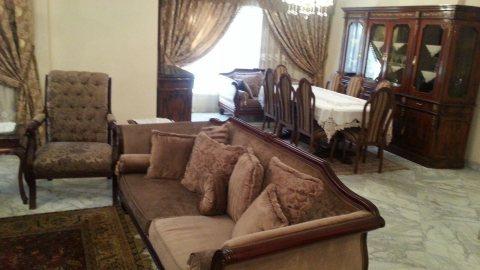 للتميز والفخامة شقة مفروشة للايجار 1200ج بشارع حسنين هيكل