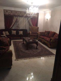 للتميز والفخامة شقة مفروشة للايجار900ج بحسنين هيكل