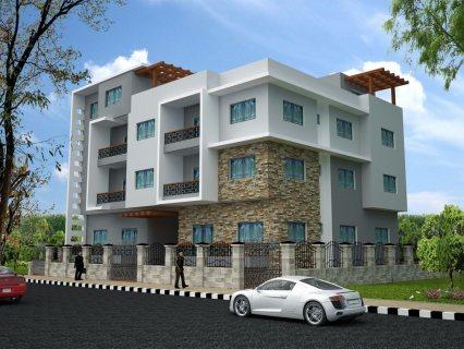 للبيع معـــــروض شقة مساحتها (( kl,d))