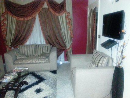 للتميز والفخامة شقة مفروشة للايجار بجانب جنينة مول400ج