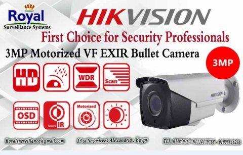 كاميرات مراقبة خارجية   TRUE WDR HIKVISION