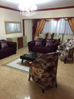للتميز والفخامة شقة مفروشة للايجار بجوار الخدمات700ج