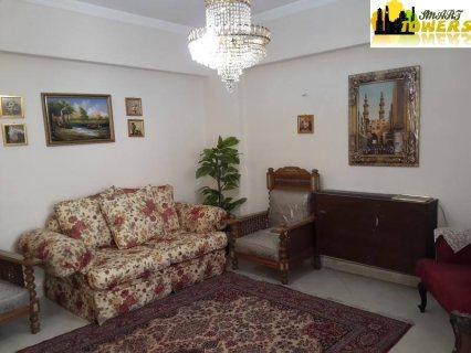 فرصة شقة مفروشة للايجار بشارع هشام لبيب