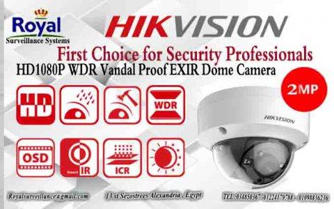 كاميرات مراقبة داخلية مقاومة للصدمات   HIKVISION