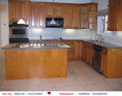 موديلات مطابخ خشب - مطابخ اكريليك ( للاتصال 01210044703)