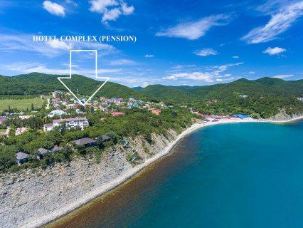 Hotel complex on the Black Sea coast of Russia
