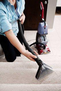 ماكينة تنظيف انتريهات بالمياه الساخنة والبودر