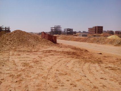 ارض للبيع بالمنطقة المحصورة باكتوبر#6اكتوبر