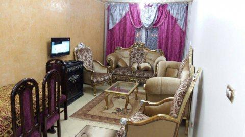 -\لعشاق الهدوء شقة مفروشة للايجار باول مدينة نصر