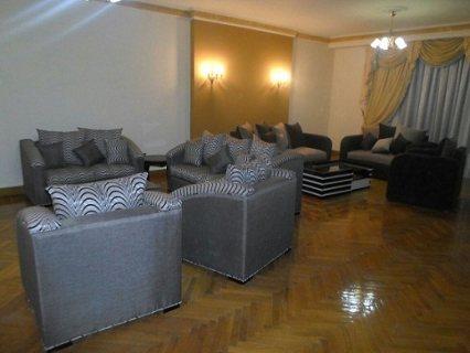 شقة مفروشة  للايجار بمكرم عبيد 1200 جنيه لليوم