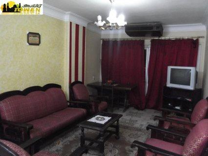 شقة مفروشة  للايجار خلف دار الدفاع الجوى 300 جنيه لليوم