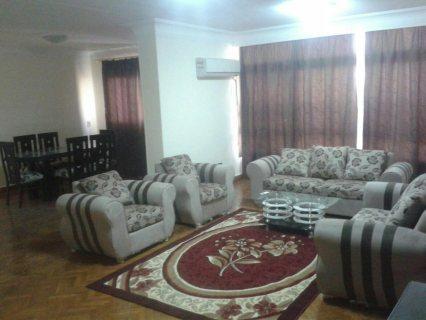 `لعشاق الهدوء شقة مفروشة للايجار تطل على دار الدفاع