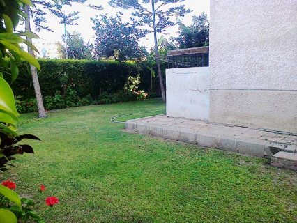 شقة للايجار بالمعمورة الشاطئ سوبر لوكس دور ارضي بحديقة خاصة 200م