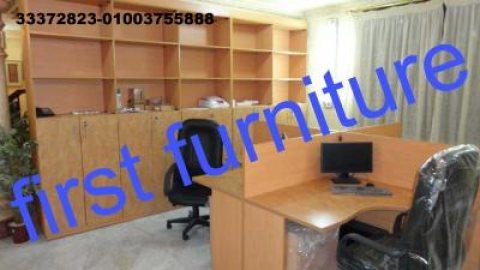 اثاث مكاتب للشركات خلايا عمل برتيشانات مكتبات لدى فرست