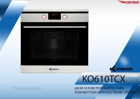 KO610TCX فرن كلوجمان فرن كهرباء بلت ان 60 سم 10 وظائف  66 لتر