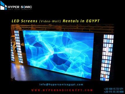 ايجار شاشات ليد عرض عملاقه فى مصر