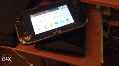 Wiiu للبيع مع العاب وملحقات