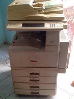 ماكينة تصوير ريكو مستعمله للبيع