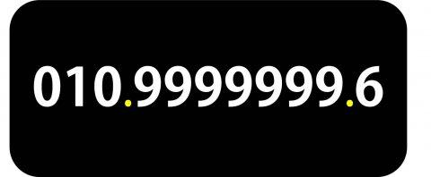 010.9999999.6 رقم فودافون مصرى (سبع تسعات) نادر جدا للبيع
