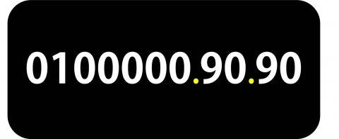 0100000.90.90 رقم فودافون مصرى (ميت ألف) نادر جدا للبيع