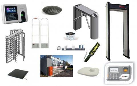 جميع الأنظمة والمنتجات الخاصة بالتحكم فى البوابات والجراجات والهيئات والمؤسسات
