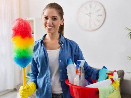 عاملة نظافة بالاسكندرية