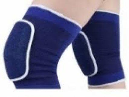 تخفيضات مشد ركبة رياضية الياف زرقاء