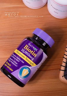 كبسولات البيوتين فيتامين لتقويه الشعر والاظافر