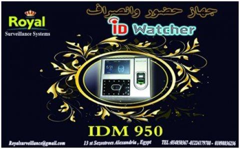 جهاز حضور والانصراف بالبصمة و الكارت و الوجه IDM-950