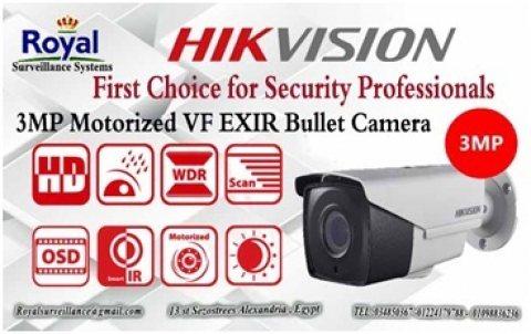 أحدث كاميرات مراقبة خارجية   TRUE WDR HIKVISION
