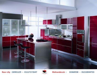 مطبخ بى فى سى  - مطبخ اكريليك – مطبخ بولى لاك ( للاتصال  01210044703 )