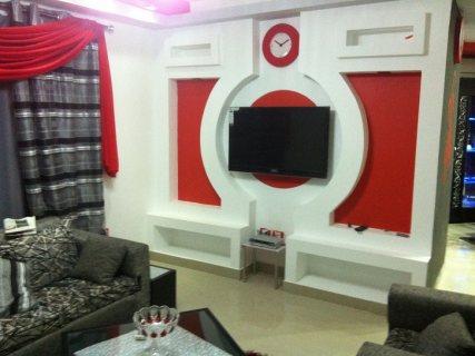 شقة مفروشة للايجار بحى السفارات فرصة لا تعوض
